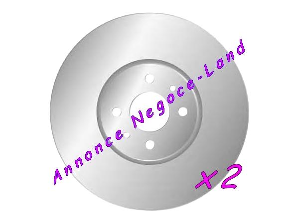 Jeu de 2 disques de frein avant Mga D1590 (Neuf) [Petites annonces Negoce-Land.com]