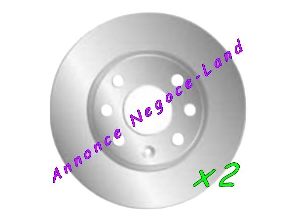 Image Jeu de 2 disques de frein avant Mga D880 (Neuf) [Petites annonces Negoce-Land.com]