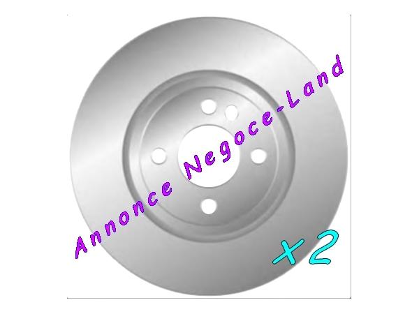 Jeu de 2 disques de frein avant Mga D1715 (Neuf) [Petites annonces Negoce-Land.com]