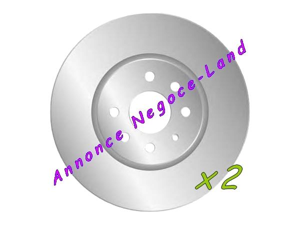 Image Jeu de 2 disques de frein avant Mga D1491 (Neuf) [Petites annonces Negoce-Land.com]