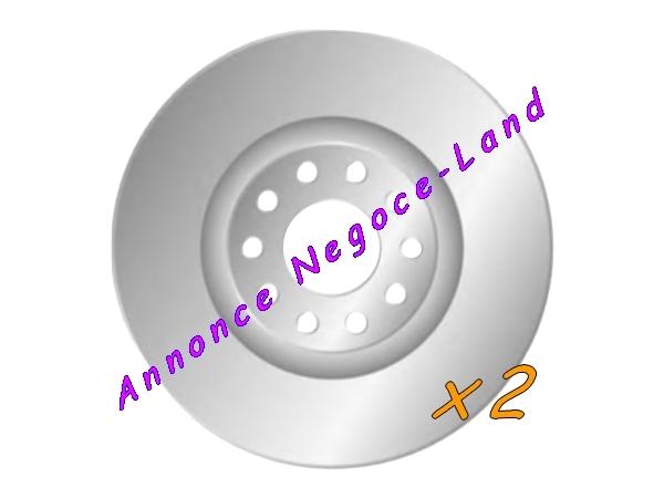 Image Jeu de 2 disques de frein avant Mga D1700 (Neuf) [Petites annonces Negoce-Land.com]