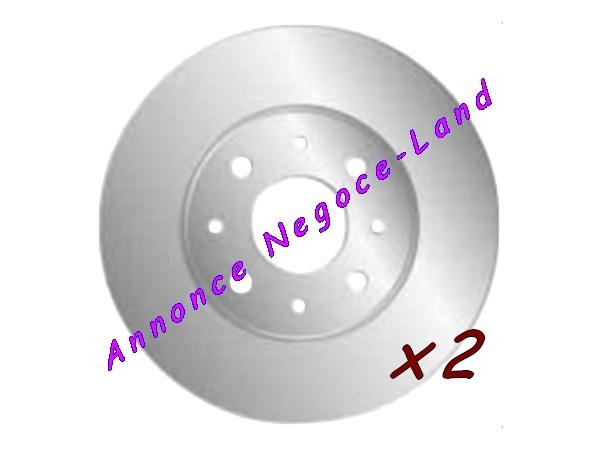 Jeu de 2 disques de frein avant Mga D1031 (Neuf) [Petites annonces Negoce-Land.com]