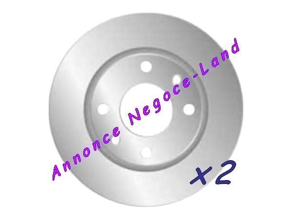 Image Jeu de 2 disques de frein avant Mga D1286 (Neuf) [Petites annonces Negoce-Land.com]