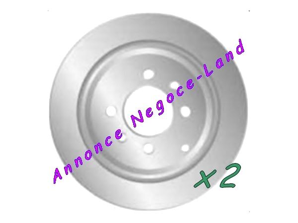 Jeu de 2 disques de frein arrière Mga D1231 (Neuf) [Petites annonces Negoce-Land.com]