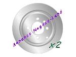 Jeu de 2 disques de frein arrière Mga D1231 (Neuf) offre Pièces détachées [Petites annonces Negoce-Land.com]