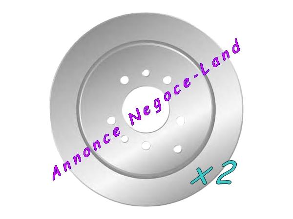 Image Jeu de 2 disques de frein arrière Mga D1386 (Neuf) [Petites annonces Negoce-Land.com]