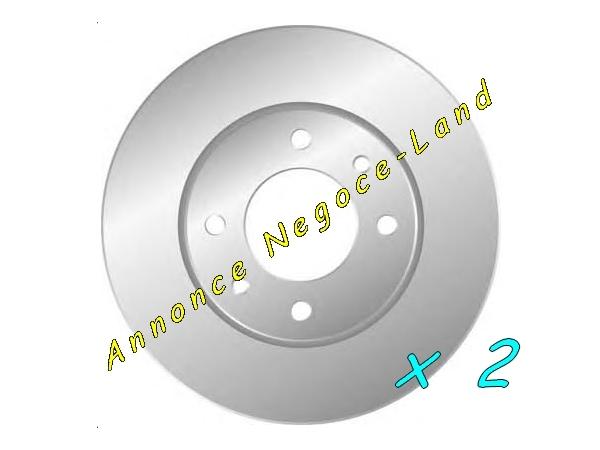 Image Jeu de 2 disques de frein avant BENDIX 562130B (Neuf) [Petites annonces Negoce-Land.com]