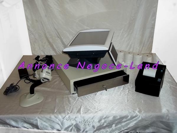 caisse enregistreuse tactile saga perimatic tpv negoce. Black Bedroom Furniture Sets. Home Design Ideas