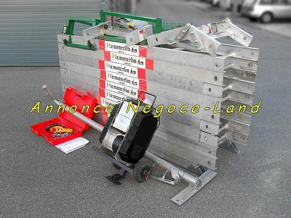 Image (Haemmerlin MA415 Révisé) Monte charge Lève tuiles & Matériaux [Petites annonces Negoce-Land.com]