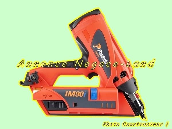 Image Cloueur à gaz de charpentier Spit Paslode IM90i [Petites annonces Negoce-Land.com]
