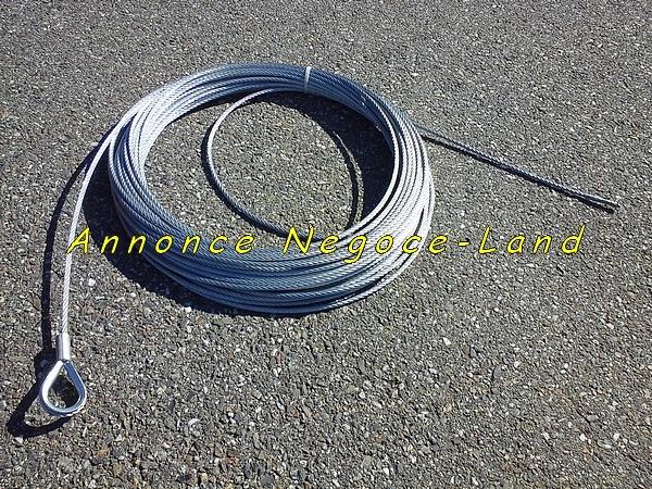 Image Câble de levage spécial monte matériaux lève charge pour 250kg [Petites annonces Negoce-Land.com]