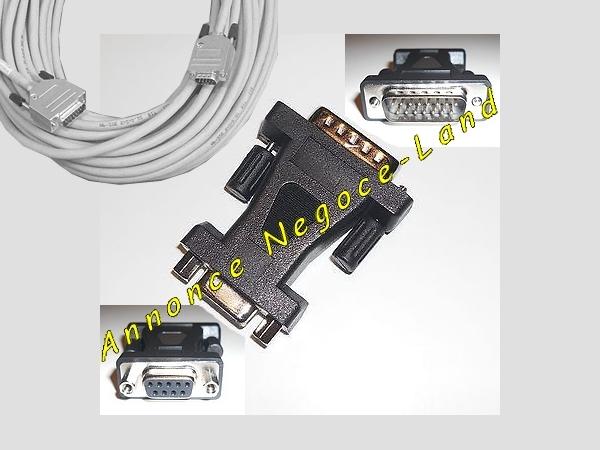 Image Rech. Changeur Adaptateur Convertisseur D-Sub 15 vers Sub-D 9  [Petites annonces Negoce-Land.com]