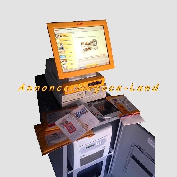 photo de Borne tactile photo KODAK Picture Kiosk GS décomposée  (Annonce Negoce-Land)