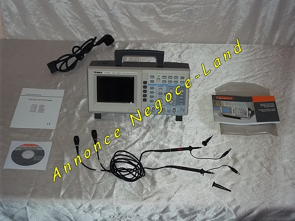 Image Oscilloscope numérique Tenma 72-8395 [Petites annonces Negoce-Land.com]