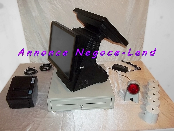 photo de Pack caisse enregistreuse tactile Partner PT8800 15'' TPV  (Annonce Negoce-Land)