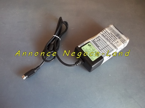 photo de Chargeur d'alimentation 24V d'imprimante ticket thermique  (Annonce Negoce-Land)