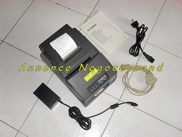 photo de Imprimante Epson TMH 6000III thermique & Chèques