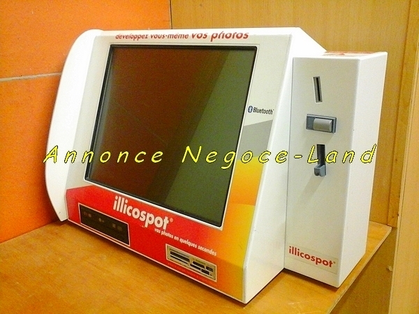 Image Pack borne photo tactile ILLICOSPOT + Shinko CHC-S9045-5 [Petites annonces Negoce-Land.com]