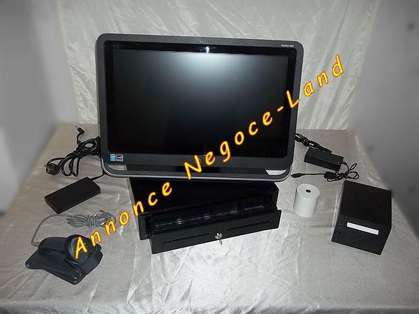 photo de Pack caisse enregistreuse tactile HP + Logiciel TPV  (Annonce Negoce-Land)