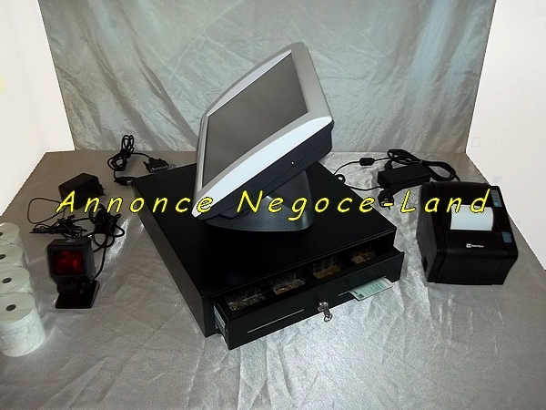 photo de Caisse enregistreuse tactile SAGA Perimatic TPV (complète)