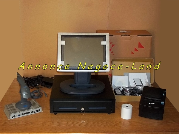 photo de Ensemble caisse enregistreuse tactile TPV (Ecran Neuf + INEOS600)  (Annonce Negoce-Land)