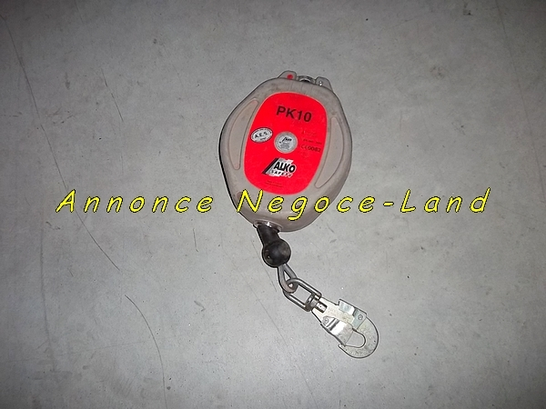Anti-chute de sécurité ALKO PK10 10m (rappel automatique) [Petites annonces Negoce-Land.com]