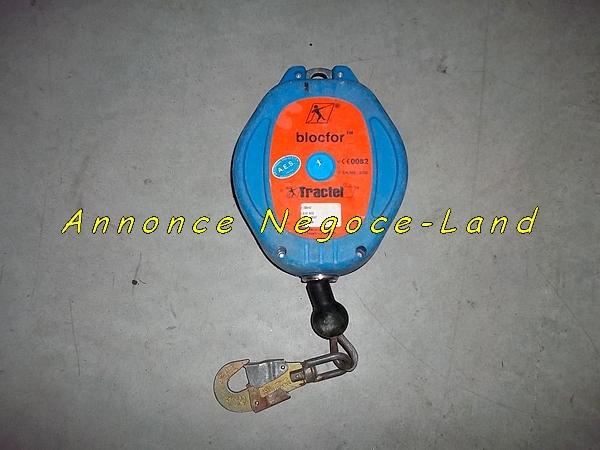 Image Antichute Tractel 10m Blocfor Stop Chute sécurité rappel automatique [Petites annonces Negoce-Land.com]