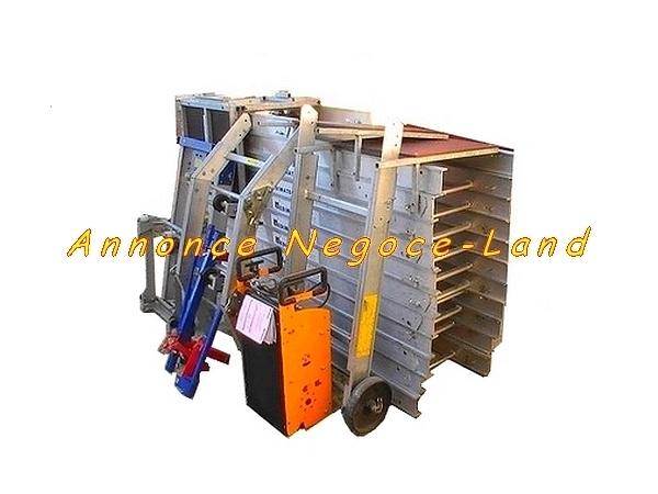 Image Monte charge lève tuiles & matériaux Edimatec Montana (15m 250Kg) [Petites annonces Negoce-Land.com]