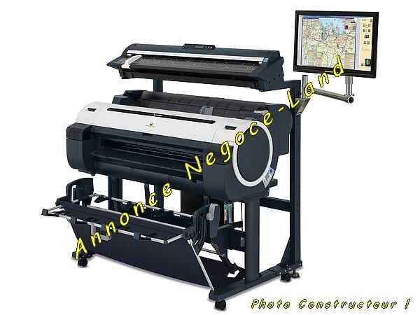 photo de Traceur Canon imagePROGRAF iPF765 MFP Scanner Colortrac M40  (Annonce Negoce-Land)