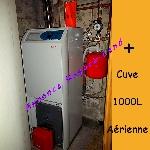 Chaudière à Fioul Geminox TL20 S + Notice + Raccordement + Cuve 1000L offre Electroménager [Petites annonces Negoce-Land.com]