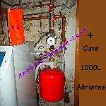 Chaudière à Fioul Geminox TL20 S + Notice + Raccordement + Cuve 1000L [Petites annonces Negoce-Land.com]