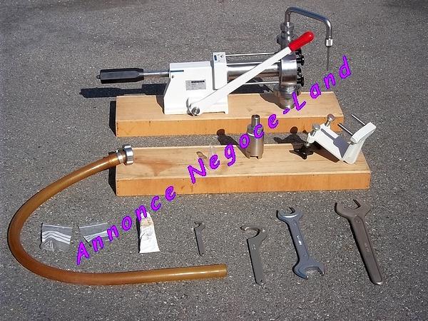 Image Remplisseuse Wuerschum H80 multi contenant manuelle volumétrique de liquide [Petites annonces Negoce-Land.com]