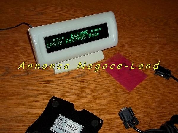photo de Afficheur client à Led verte Aures Posligne OCD100 (USB & Série)  (Annonce Negoce-Land)