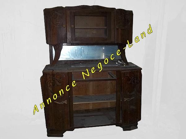 Image Ancien vaisselier en bois à restaurer [Petites annonces Negoce-Land.com]