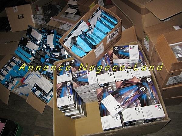 photo de Arrivage lot de consommables HP (neuf d'origine)  (Annonce Negoce-Land)