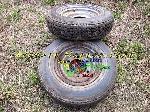Image 2 Jantes avec pneus Michelin 205-15 X [Petites annonces Negoce-Land.com]