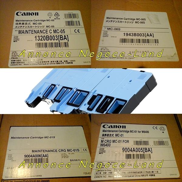 Image Lot kit cartouches de maintenance Canon MC-0 [Petites annonces Negoce-Land.com]
