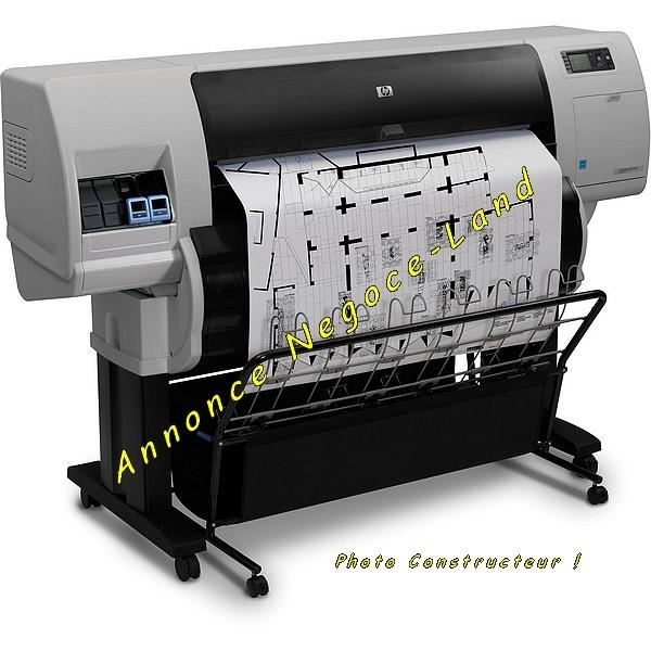 Image Traceur tireuse de plan HP DesignJet A0 T7100 [Petites annonces Negoce-Land.com]