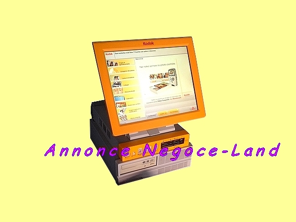 Image Borne photo tactile 15'' KODAK Picture Kiosk [Petites annonces Negoce-Land.com]