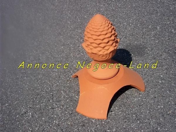 Image 4 Connecteurs + 4 Epi faîtage décoratif Neufs [Petites annonces Negoce-Land.com]
