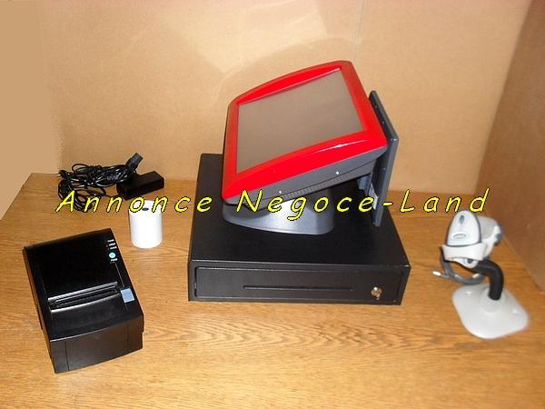pack caisse enregistreuse tactile perimatic saga tpv. Black Bedroom Furniture Sets. Home Design Ideas