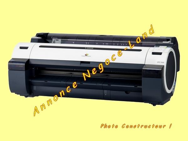 Image Traceur couleur Canon IPF750 Tireuse de plans (Format A0) [Petites annonces Negoce-Land.com]