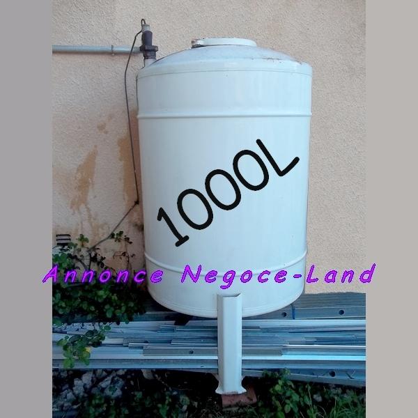 Cuve 1000L à Fioul (Fuel domestique) de chauffage & 125L de Mazout [Petites annonces Negoce-Land.com]
