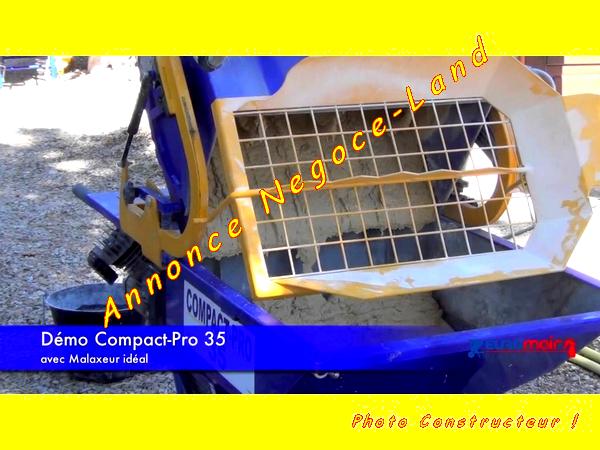 Image Malaxeur Europro Ideal pour Projeteuse Compact Pro Euromair [Petites annonces Negoce-Land.com]