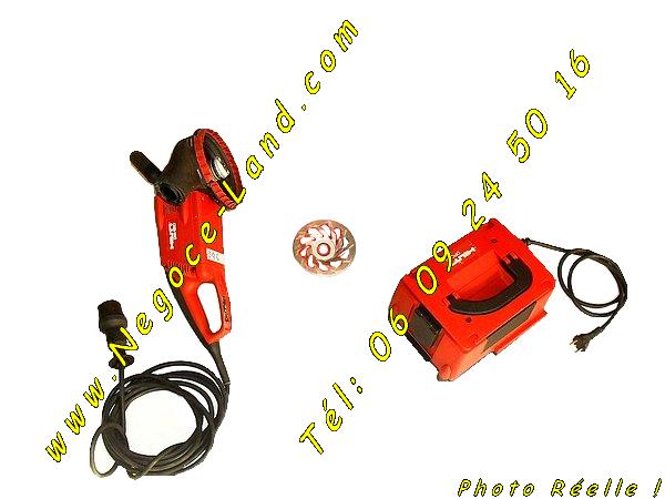 Image Ponceuse Surfaçeuse HILTI DG150 et Transformateur DPC20 [Petites annonces Negoce-Land.com]