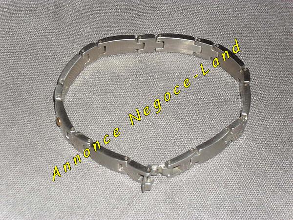 Image Bracelet gourmette pour homme mode & tendance [Petites annonces Negoce-Land.com]