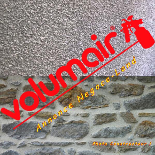Image Projeteuse Volumair Gouttelette & Enduit de finition [Petites annonces Negoce-Land.com]