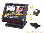 Pack caisse enregistreuse tactile Casio QT-6100 avec Logiciel son offre Caisses tactiles - TPV [Petites annonces Negoce-Land.com]