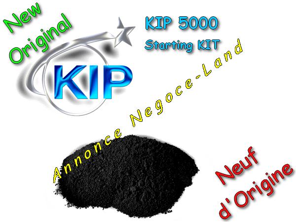 photo de Toner - KIP 5000 - Starting KIT - Laser - Noir - [Original 500g Neuf]  (Annonce Negoce-Land)