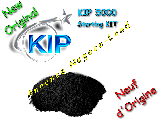 Toner - KIP 5000 - Starting KIT - Laser - Noir - [Original 500g Neuf] [Petites annonces Negoce-Land.com]
